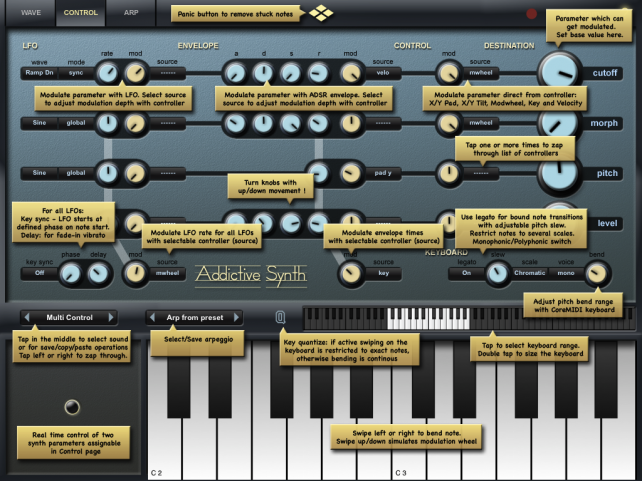 Addictive Synth Brings Huge Features And Crystal Presets To The iPad