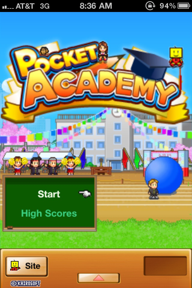 Build Your Dream School In Kairosoft's Pocket Academy