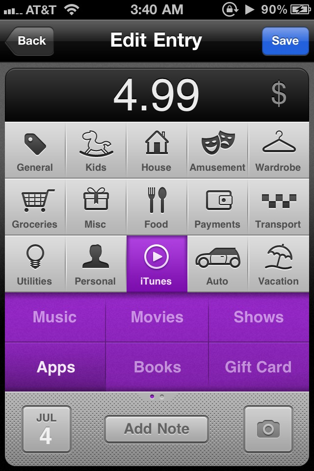 Keep Track Of Your Budget With Saver