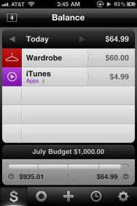 Saver ~ Control your Expenses by Alex Solonsky screenshot