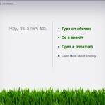 Grazing Web Browser Is A Browser That Makes Use Of Gestures