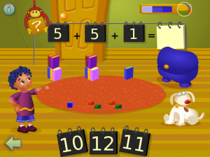 i Learn With Poko: Additions! - Math educational games for kids in preschool and kindergarten by Tribal Nova screenshot