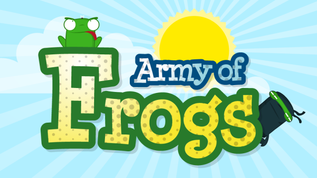 Have A Blast Outleaping Your Opponent In Army Of Frogs