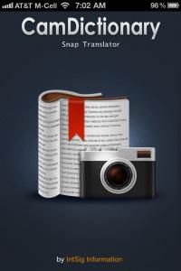 QuickAdvice: CamDictionary Translates 54 Languages - Plus, Win A Copy!