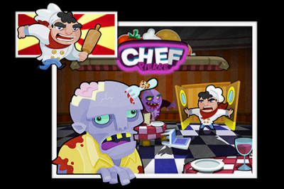 How Quickly Can You Rid The Kitchen Of Zombies In ZombieMeatballs?
