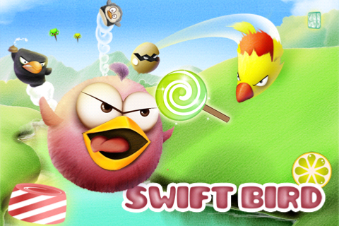 Tiny Wings And Angry Birds Seem To Be The Theme In Swift Bird