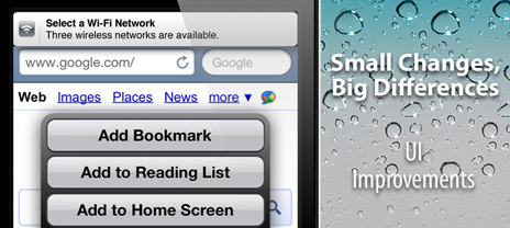 UI Concept Video: Some Small Tweaks To Make iOS 5 That Much Better