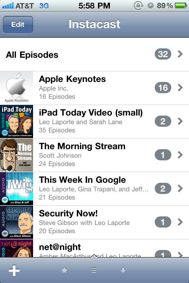 Instacast Updated: Adds Download Waiting List, Chapter Lists & Drops Support For iOS 3