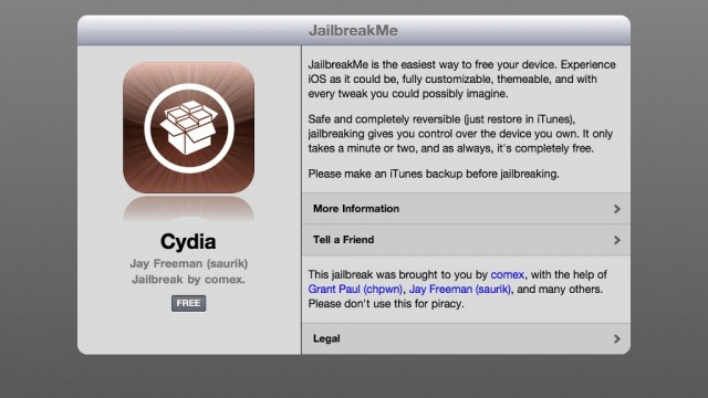 JailbreakMe: Fix For Camera Connection Kit To Hit Cydia Tomorrow