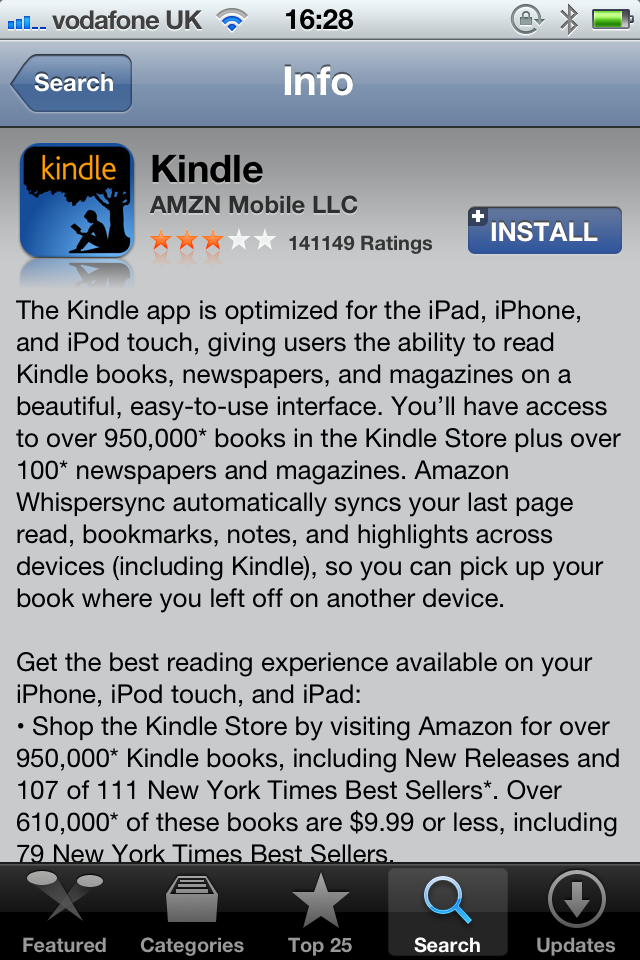 Amazon Updates Kindle App, Removes Kindle Store And Adds Support For Newspapers, Magazines