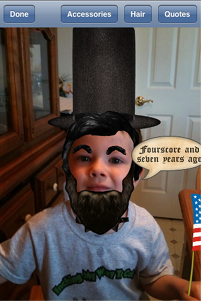 Quirky App Of The Day: Lincolnize Me!
