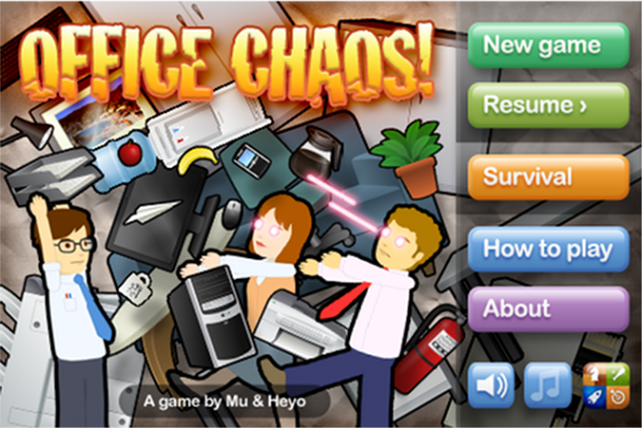 Quirky App Of The Day: Office Chaos