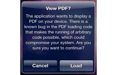 Jailbreak Only: PDF Patcher 2 - Fix The PDF Exploit JailbreakMe Utilizes