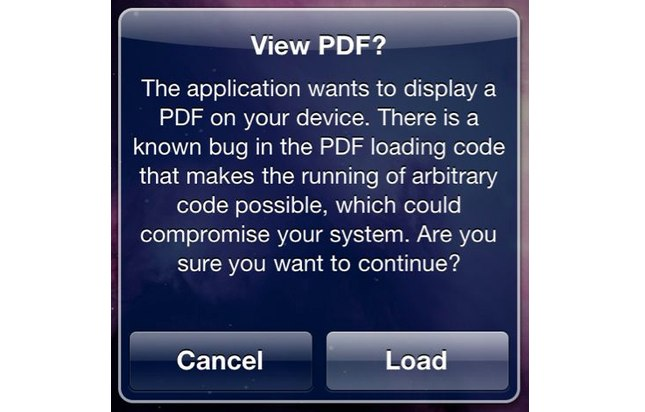 Jailbreak Only: PDF Patcher 2 - Fix The PDF Exploit JailbreakMe Utilizes