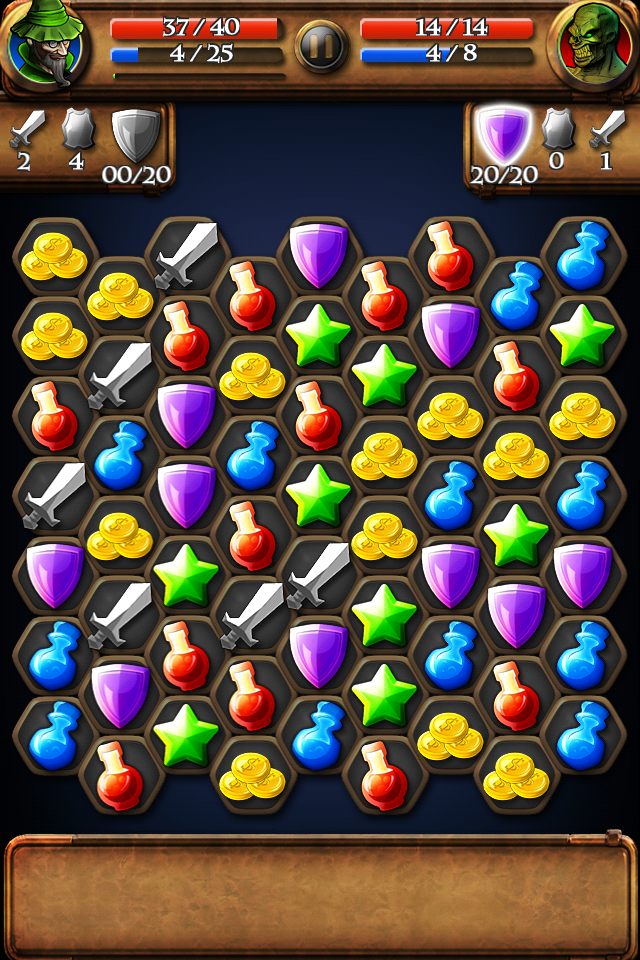 Complete Puzzles To Destroy Enemies In The Dungeon Saga