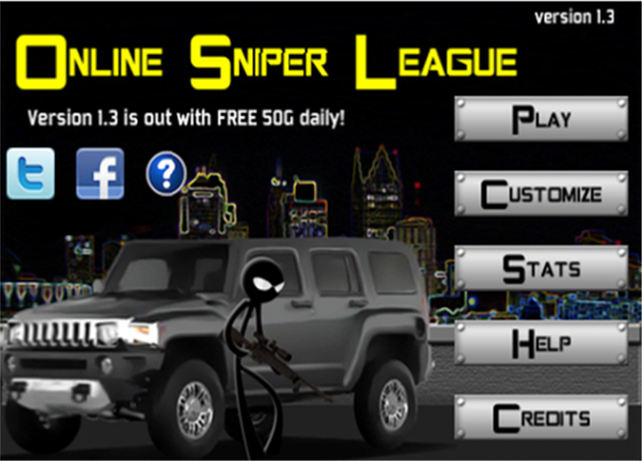 Quirky App Of The Day: Online Sniper League