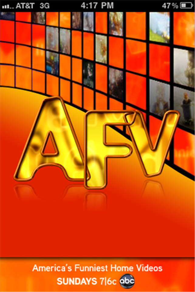 Quirky App Of The Day: America's Funniest Home Videos