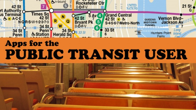 New AppList: Apps For The Public Transit User