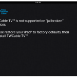 TWCable TV For iPad Updated: Adds New Features, But Doesn't Run On Jailbroken iPads