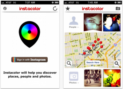 Find Instagram Pictures Near You With Instacolor