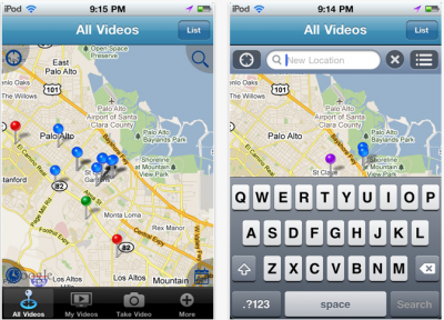 BitFlx: Real-Time Location-Aware Video Sharing