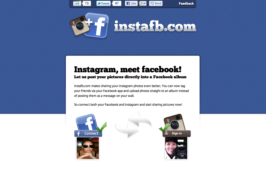 Tag Friends And Place Instagram Photos In An Album With instafb