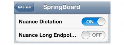 Nuance Dictation Referenced In iOS 5 - System Wide Dictation Feature, Activated By Keyboard?