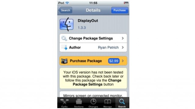 Jailbreak Only: DisplayOut Updated - Adds Support For Netflix, HDMI Adapter And HD Resolution