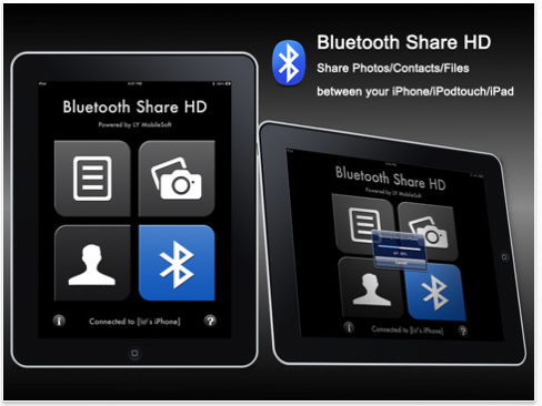 Transfer Files From Your iPad With Bluetooth