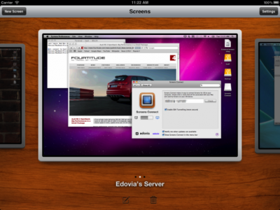 Screens VNC Client Gets Updated, Adds Support For OS X Lion & Other Improvements