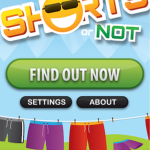 Quirky App Of The Day: Shorts Or Not