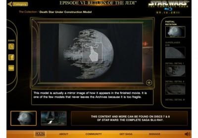 Star Wars Blu-Ray Bonus Material Coming To App Store