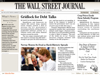 The Wall Street Journal & Kobo Fall In-Line With Apple's In-App Subscription Policy