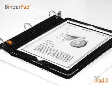 BinderPad Pouch For The iPad 2 Arrives