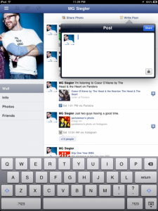 Facebook For iPad Has Arrived - Hiding Inside The iPhone Version