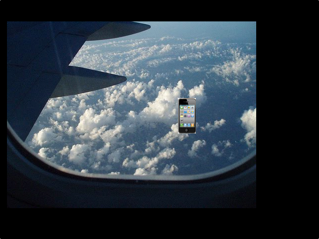 An iPhone 4 Still Works After Falling 13,500 Feet