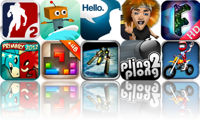 iOS Apps Gone Free: Backbreaker 2: Vengeance, Robo Surf, Hello. App For iPad, And More