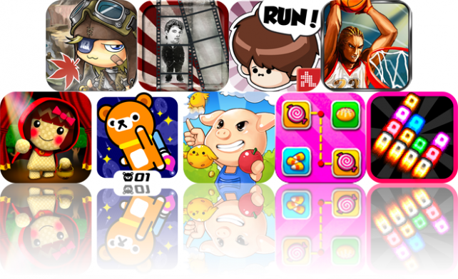 iOS Apps Gone Free: MapleStory Thief Edition, Giant Head Pro, Sneak Out!, And More