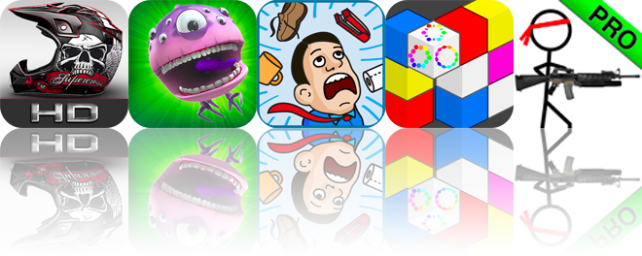 iOS Apps Gone Free: 2XL Supercross HD, Beast Farmer II, Office Riot, And More