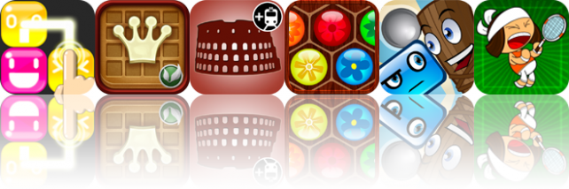 iOS Apps Gone Free: Pudding Puzzle, Waffle Queen, Rome 2Go, And More