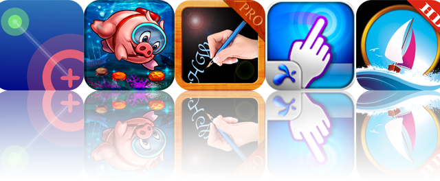 iOS Apps Gone Free: NodeBeat HD, ePig Dive Treasure Hunter, All Fonts - Pro, And More