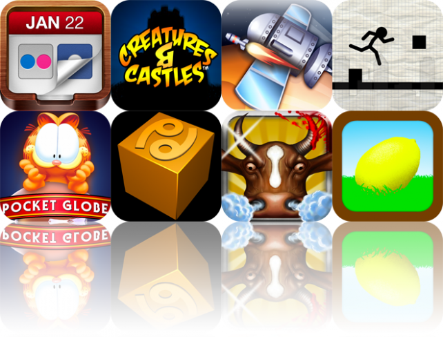 iOS Apps Gone Free: Flickpad HD, Creatures & Castles, Orbital Defender, And More