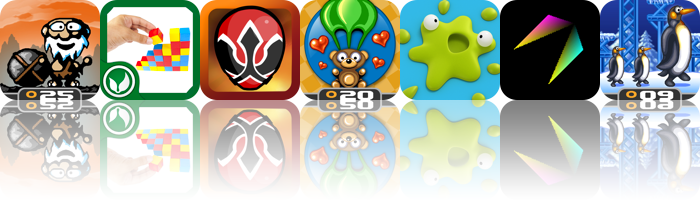 iOS Apps Gone Free: Cave Bowling, Color Tower, Power Rangers Samurai Smash, And More