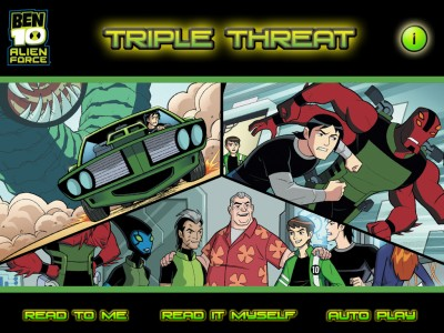 Find Out How The Plumbers Save Earth This Time In The Ben 10 Triple Threat Children's Book