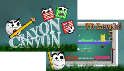 Crayon Canyon Combines Physics & Golf