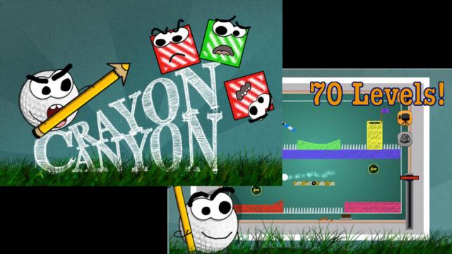 Crayon Canyon Combines Physics & Golf
