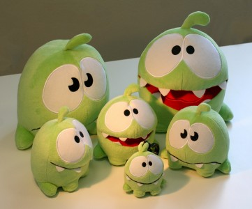 Cut The Rope's Toy Box Update Coming Soon; Om Nom To Take On A New, More Plushy Form