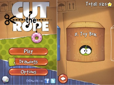 The New Toy Box Has Been Successfully Delivered In Cut The Rope v1.4