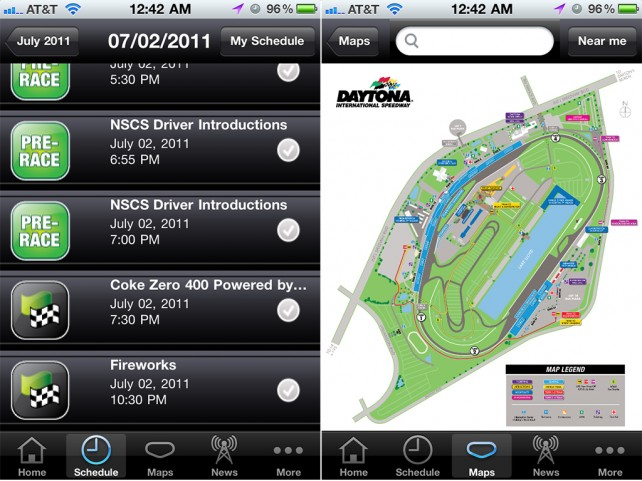 Grab A Free Copy Of The Official Daytona International Speedway App As Part Of Your Raceway Essentials
