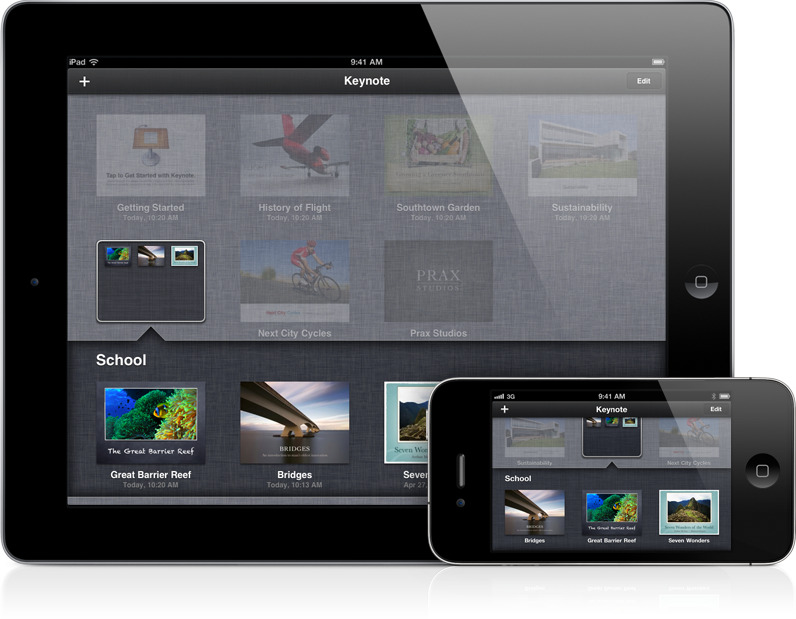 OS X Lion's Arrival Should Mean New Or Updated iWork Applications For Both Mac And iOS